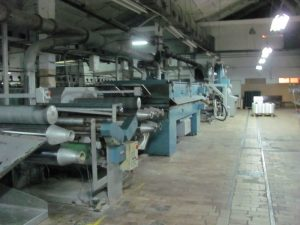 Production line relocation